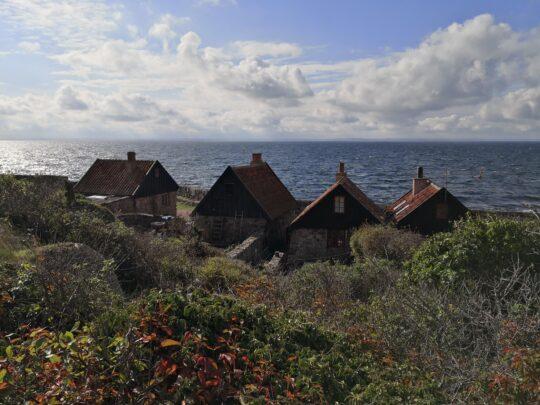 Christianso - widok na Bałtyk