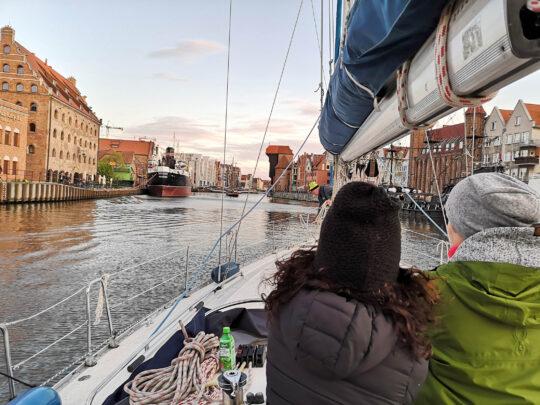 Gdańsk, jacht, - Fajnerejsy z kpt. Jacek Mirczak