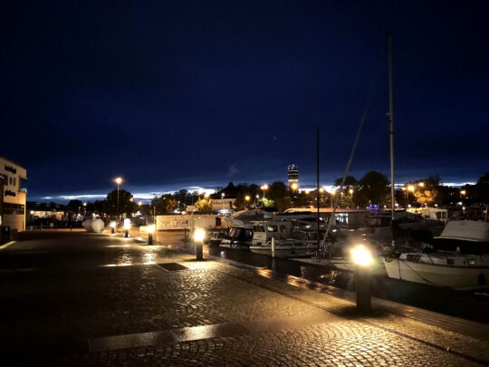Port nocą - Fajnerejsy z kpt. Jacek Mirczak